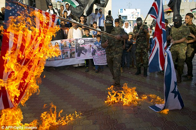Bendera Inggris, AS dan Israel Dibakar, Peringatan Deklarasi Balfour