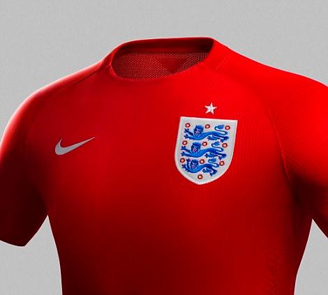 อังกฤษเปิดตัวชุดแข่งทีม