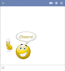 Cheers Facebook Smiley