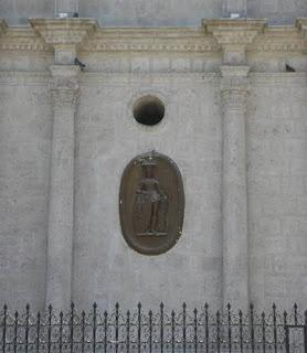 Medallones Catedral de Arequipa