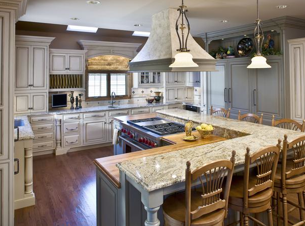 L shaped kitchen island ideas best home decoration world for Kitchen appliance layout ideas