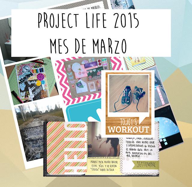Project Life 2015: mes de marzo