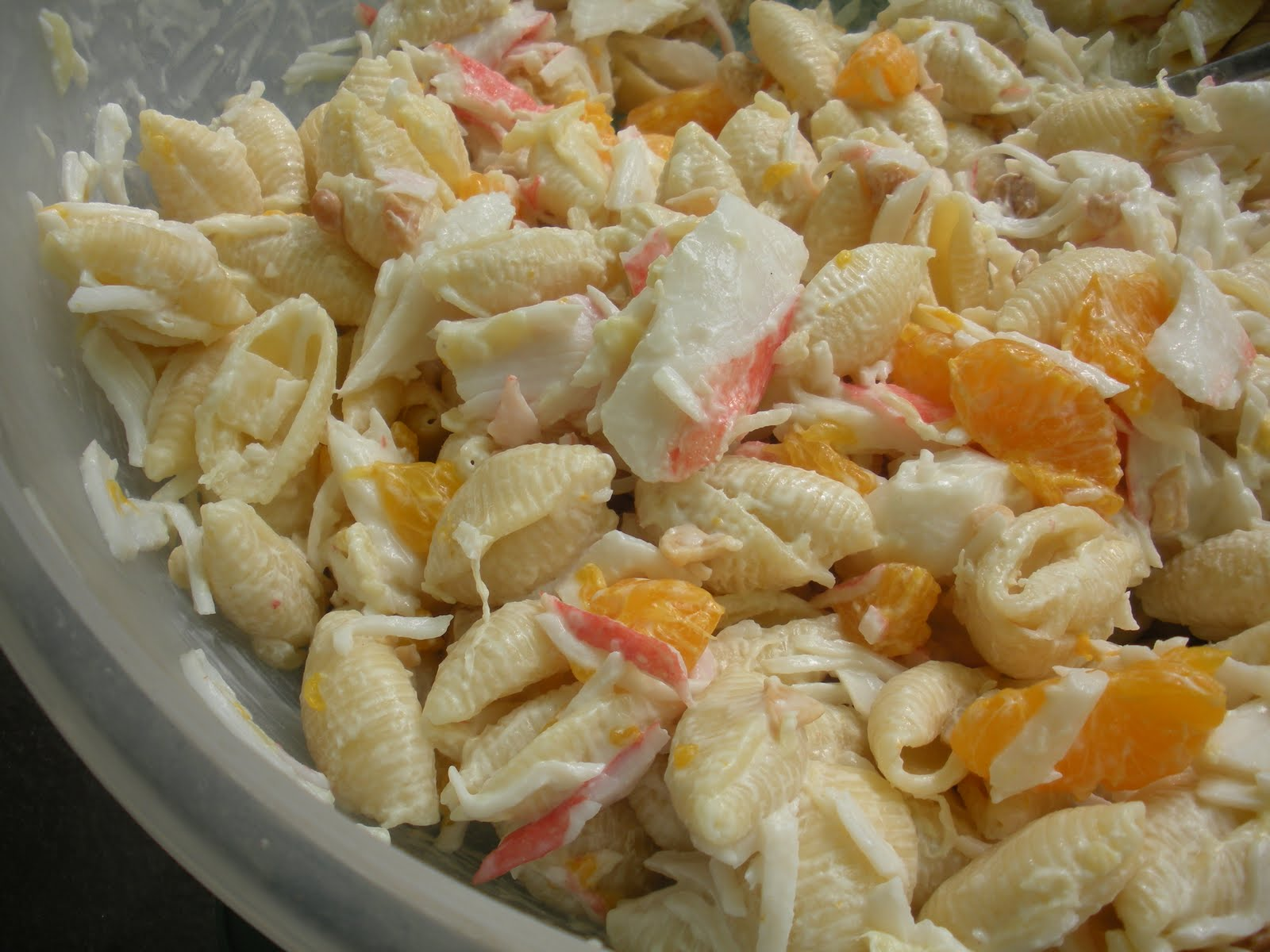 Crab Pasta Salad and Sorry I Disappeared...