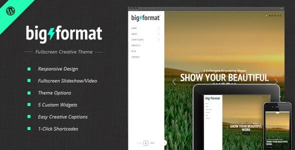 Download ThemeForest BigFormat - Responsive Fullscreen Wordpress Theme for free.