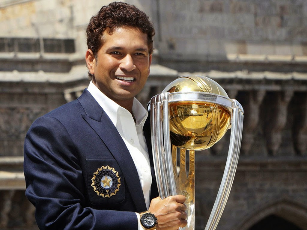 Sachin in ICC World Cup 2015