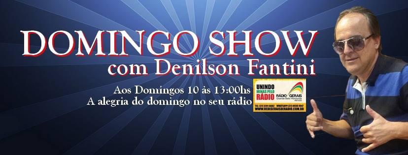 APOIO PROGRAMA DOMINGO SHOW