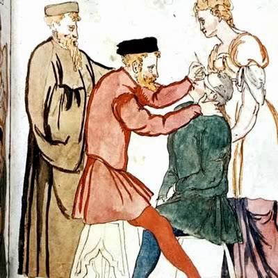 Resultat d'imatges de jueus edat mitjana operació cataractes