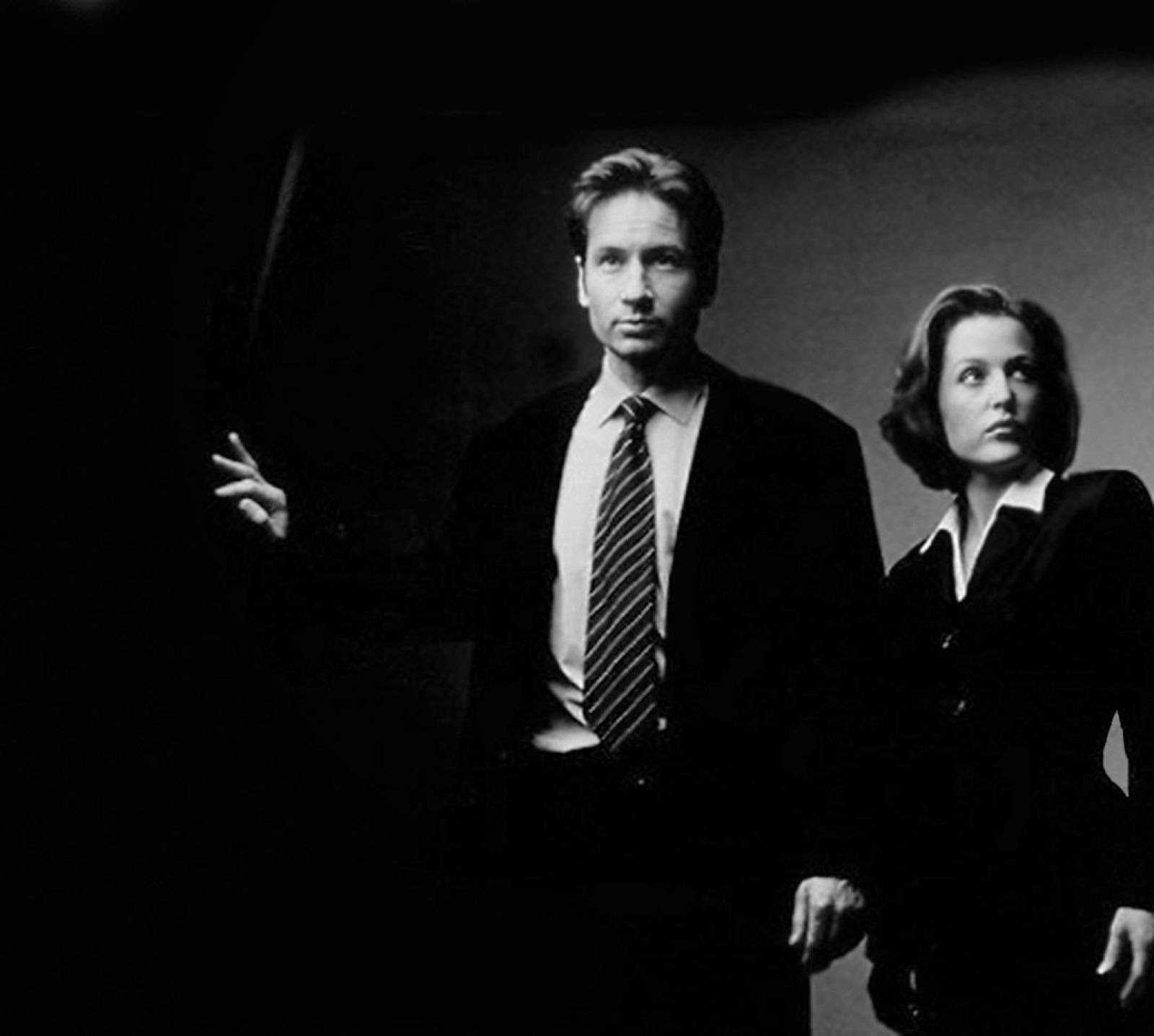 expediente x, mulder, scully, david duchovny, gillian anderson, relanzamiento