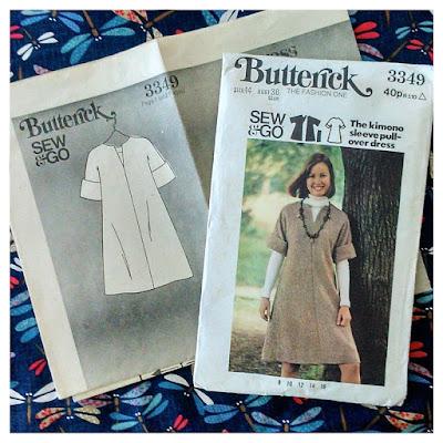 Butterick 3349: Sew & Go