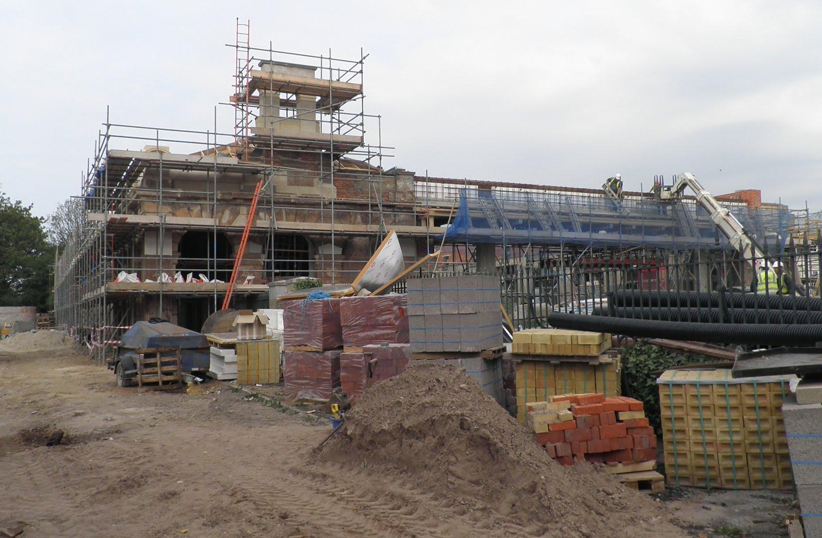 Work underway on rebuild