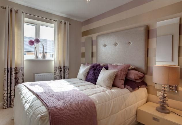 Baños Elegantes Candice Olson:Mauve and Gray Bedrooms
