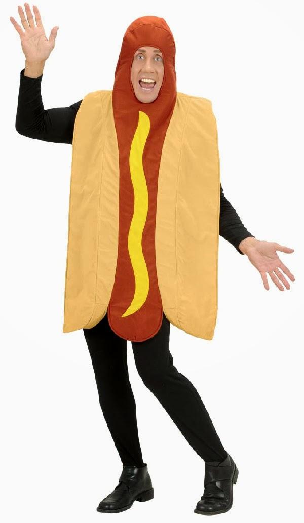 Hotdog Kostume