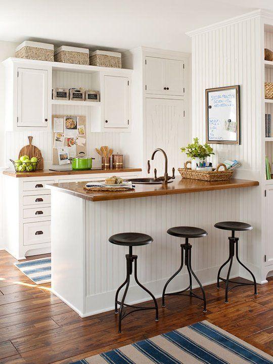 Moois en liefs: kleine keukens