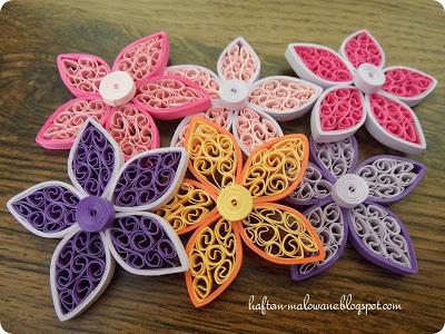 quillingowe kwiaty kurs