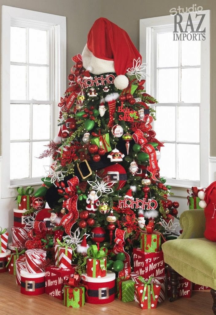 shabby in love christmas tree decorating ideas. Black Bedroom Furniture Sets. Home Design Ideas