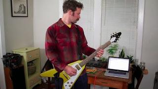 guitarra como teclado