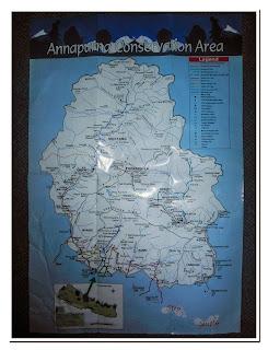 Annapurna Map
