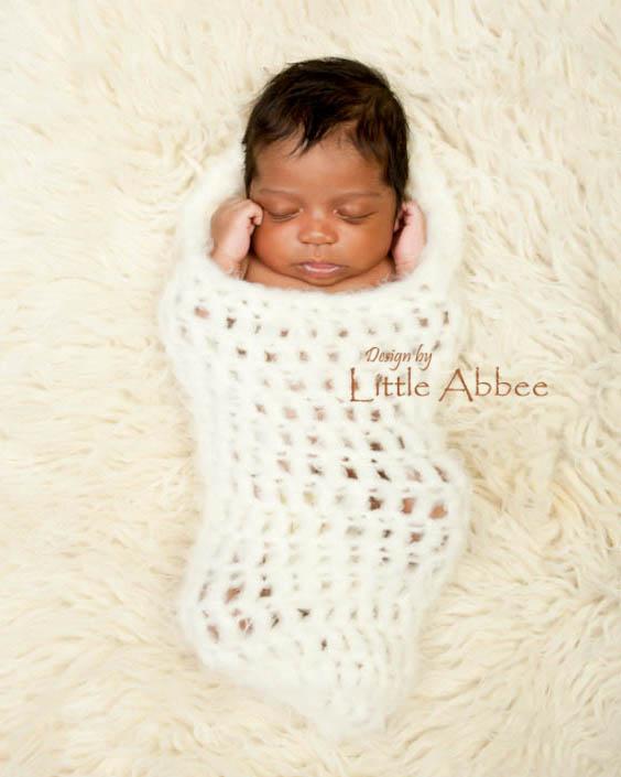 CROCHET PATTERN: Sweet Dreams Newborn Cocoon