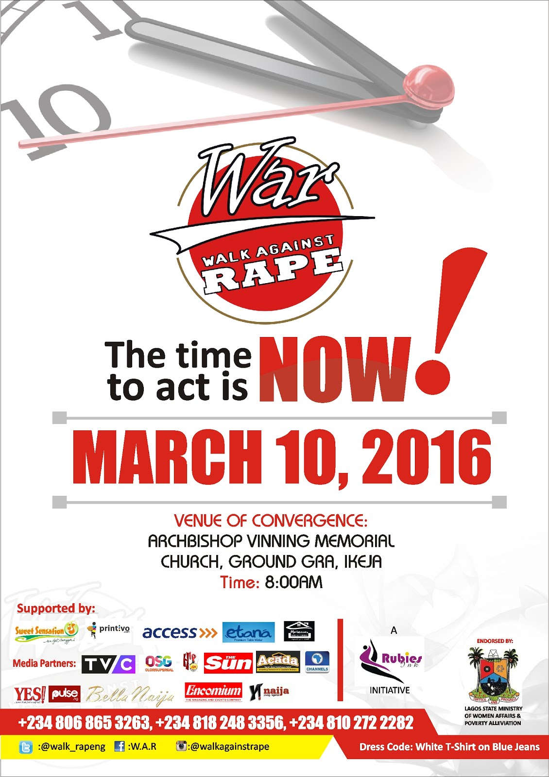 WALK AGAINST RAPE 2016