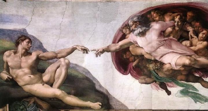 Dios creando al hombre