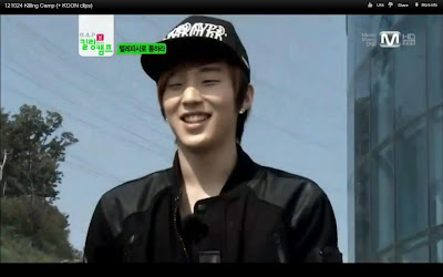 Jongup black hair