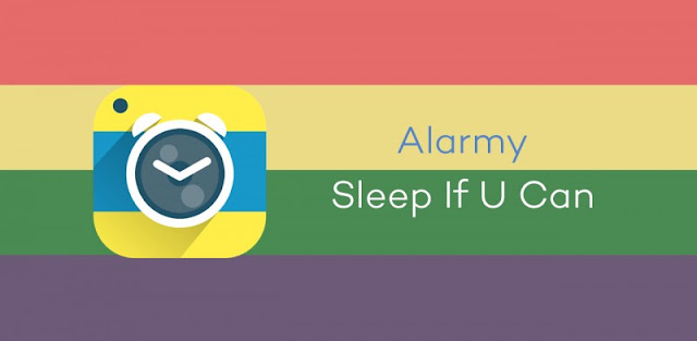 Alarmy sleep if u can android app available on google playstore useful for waking students up on time for class