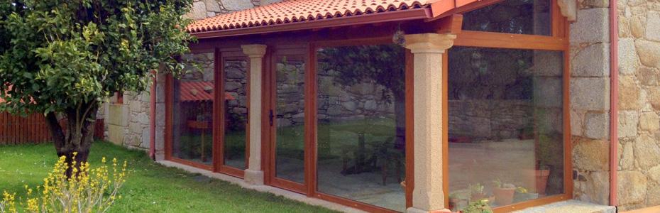 Ventanas y puertas de aluminio y pvc cantabria ventacav - Puertas para porches ...