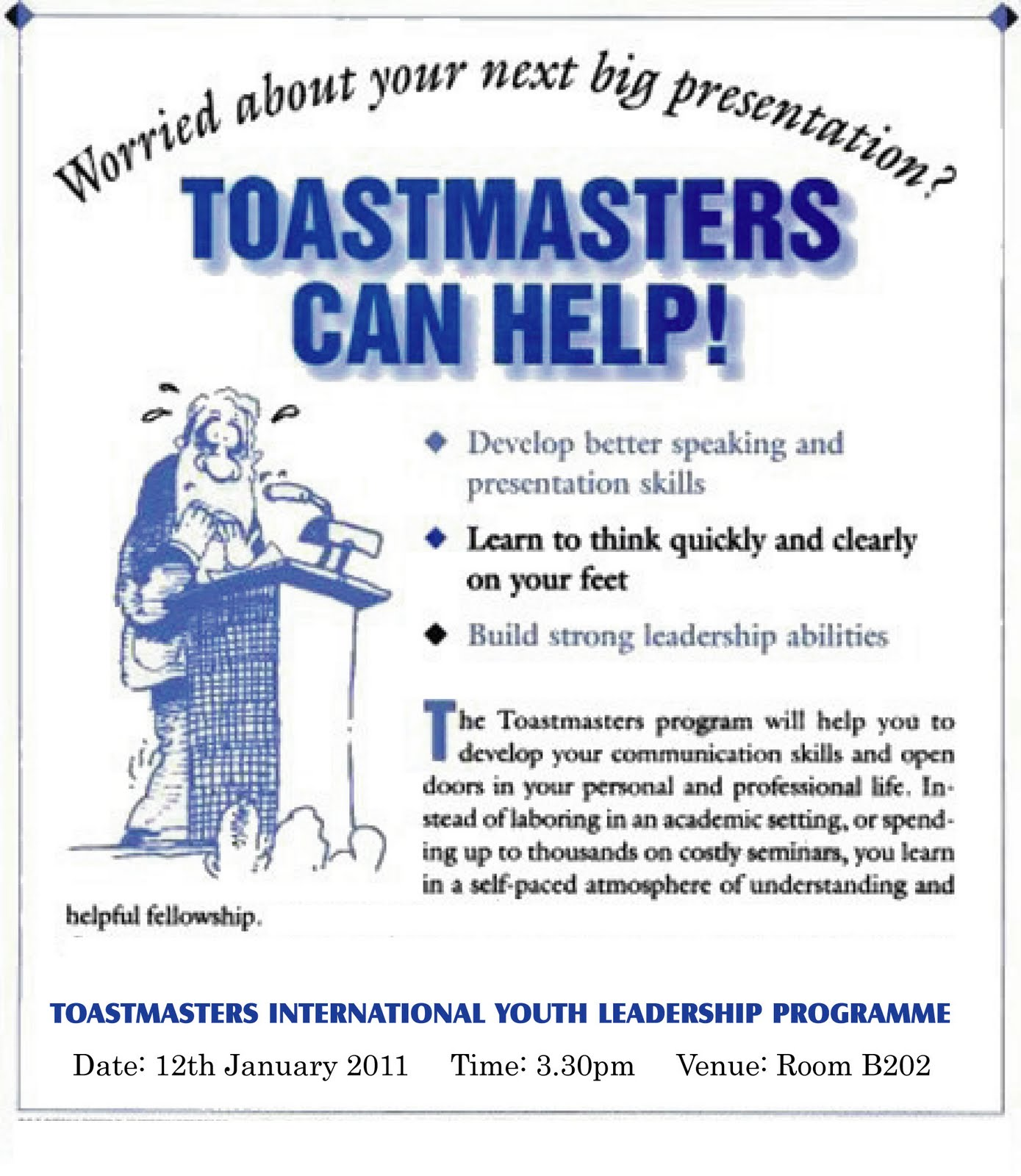 toastmasters for teens