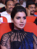 Samantha Glam pics at Rabhasa Music launch-cover-photo