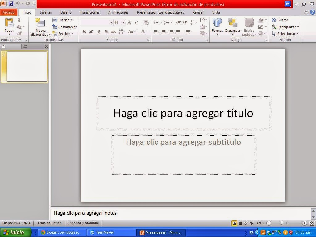 caracteristica de power point: