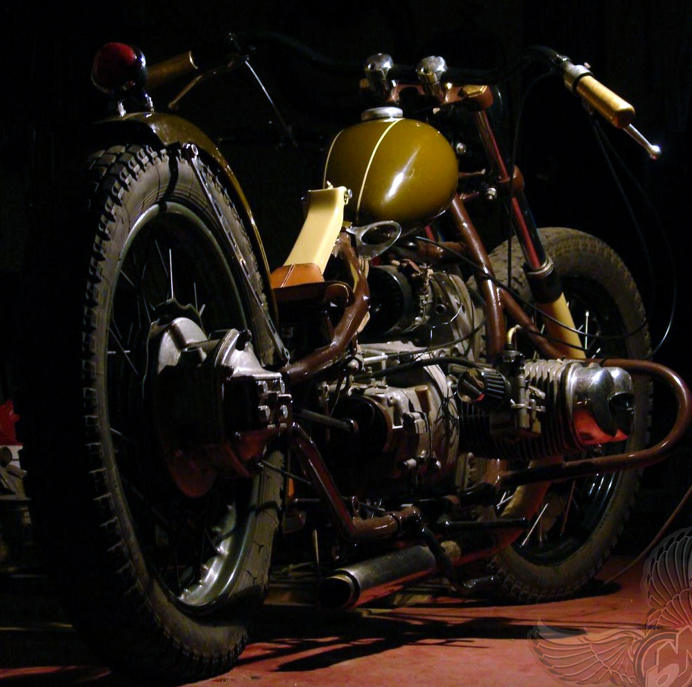 ural bobber - battle without honor | basty's machines