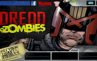 Judge Dreed vs Zombies