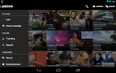 Justin.tv v1.0