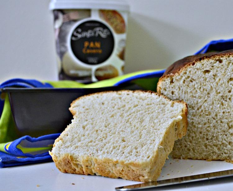 receta de pan de molde thermomix