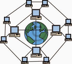 diagram of computers being linked together