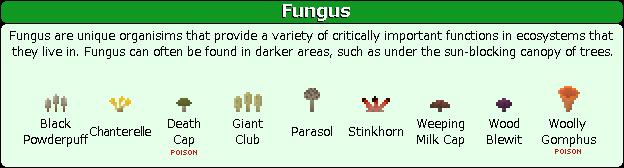 Plant Mega Pack Mod fungus