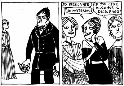 Les soeurs Brontë & vous Dude_watching_with_the_brontes_kate_beaton