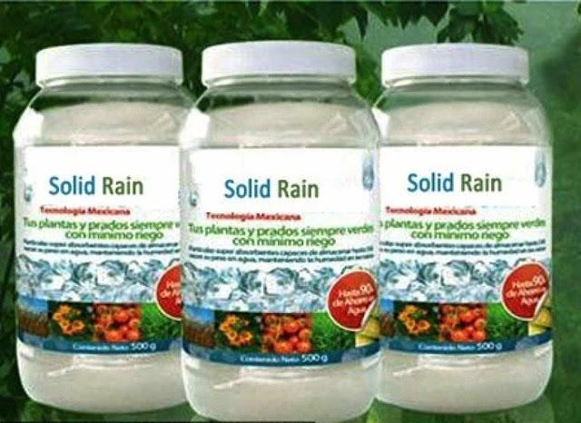 """""""Chuva sólida"""": o produto comercializado"""