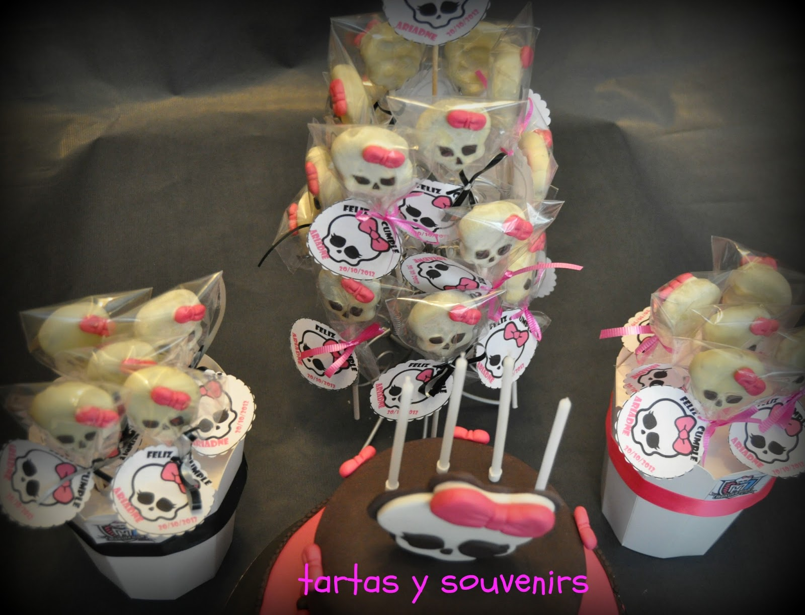 Tartas y Souvenirs: Monsters High