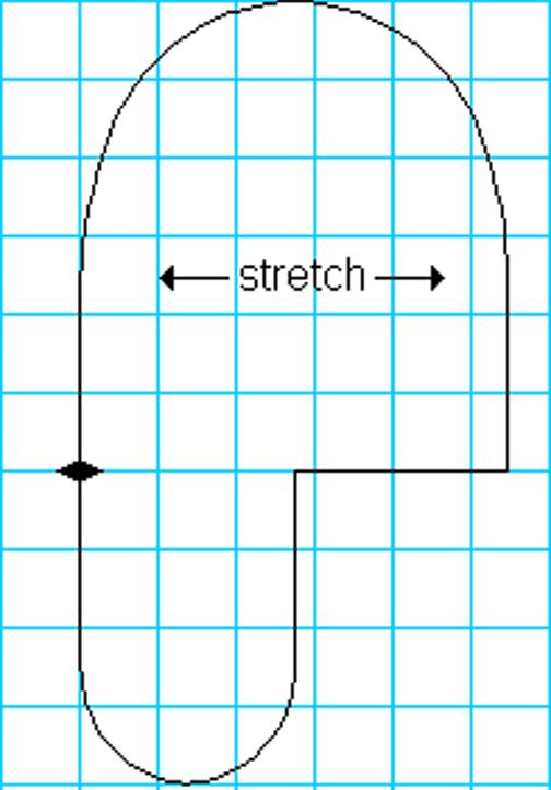 Fleece Mitten Pattern Super simple fleece mitten