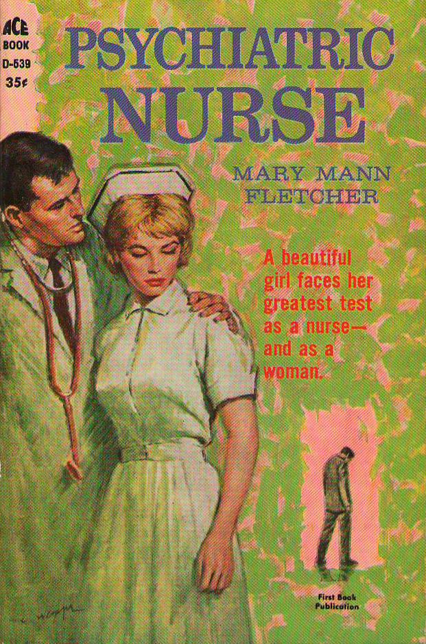 Book Cover Vintage Quotes : Vintage nurse romance novels psychiatric