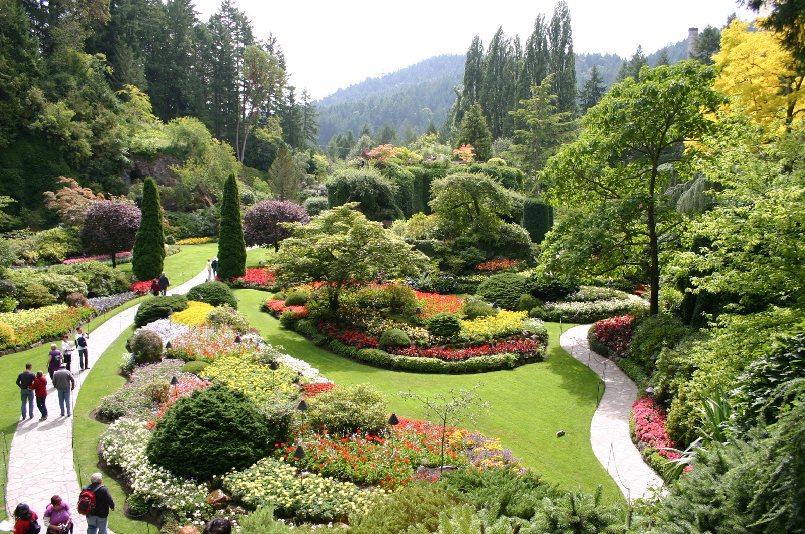 Green Espirit Celebrate Spring Time With The Butchart Gardens Photos Near Victoria British