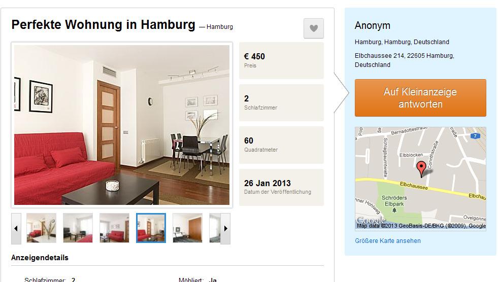 perfekte lage in der stadt eine freundliche wohnung. Black Bedroom Furniture Sets. Home Design Ideas