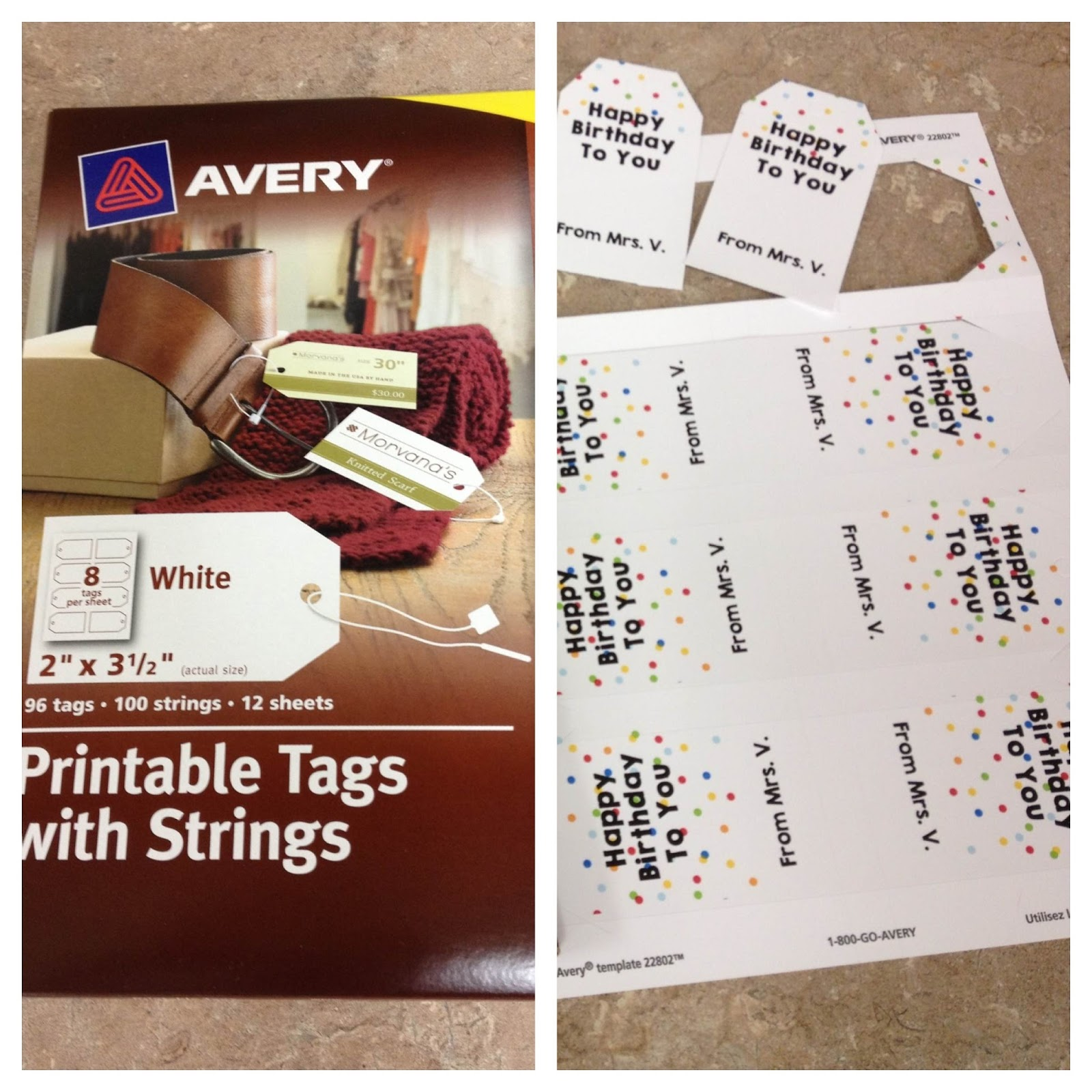 Pencils Books And Dirty Looks Avery Products Review From Shopletcom - Avery brochure template