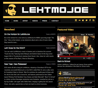 LehtMoJoe with a Redesigned Website