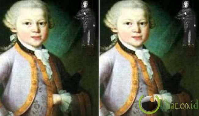 "Freemasonry dalam ""Young Mozart's Portrait""?"