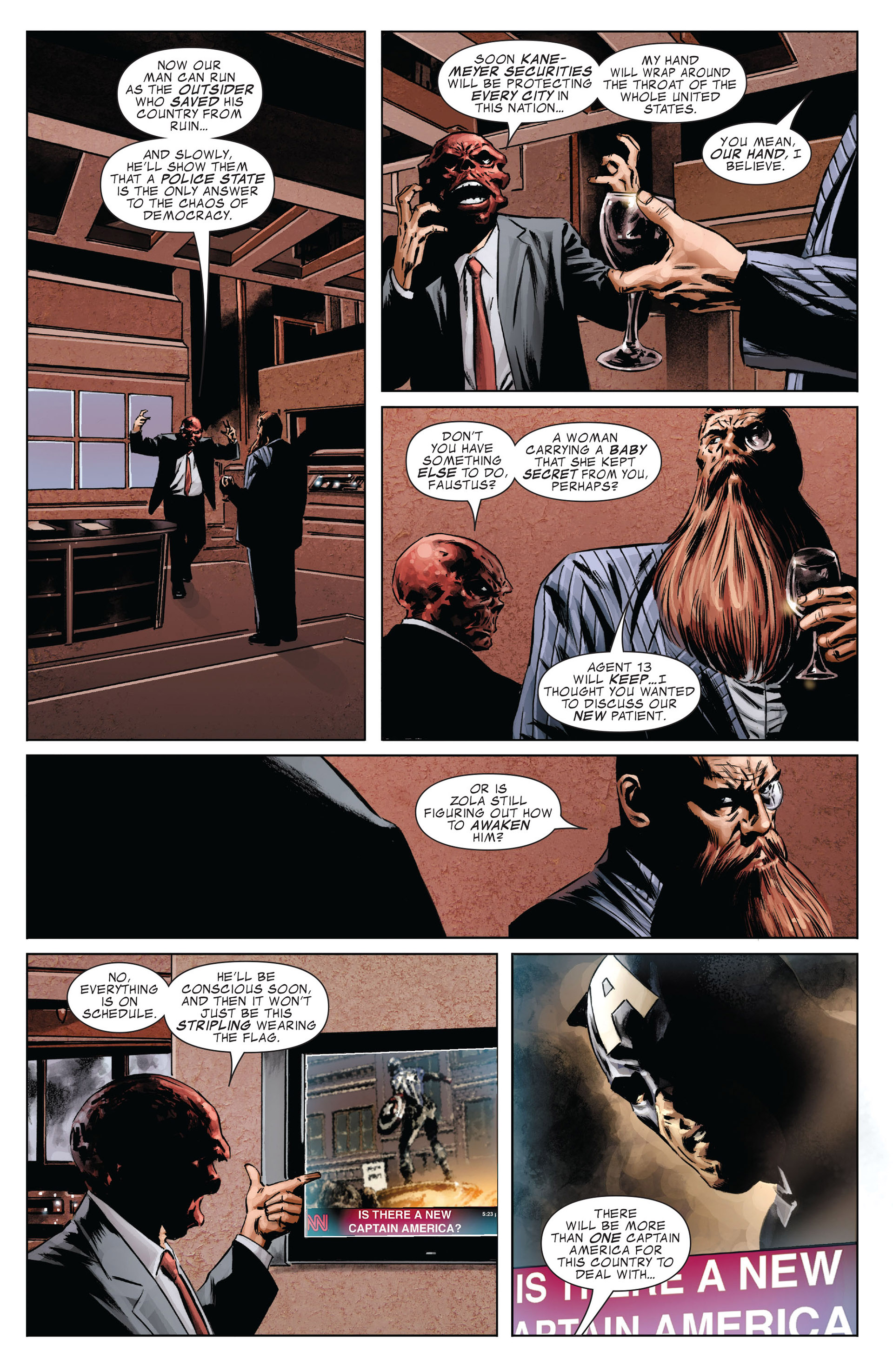 Captain America (2005) Issue #37 #37 - English 8