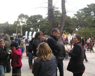 Primavera en la Plaza del Sol y la Familia