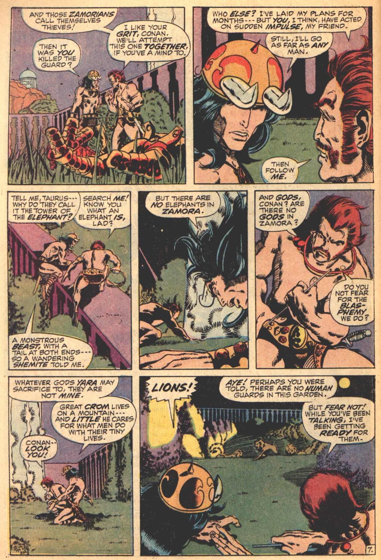 Conan the Barbarian (1970) Issue #4 #16 - English 8