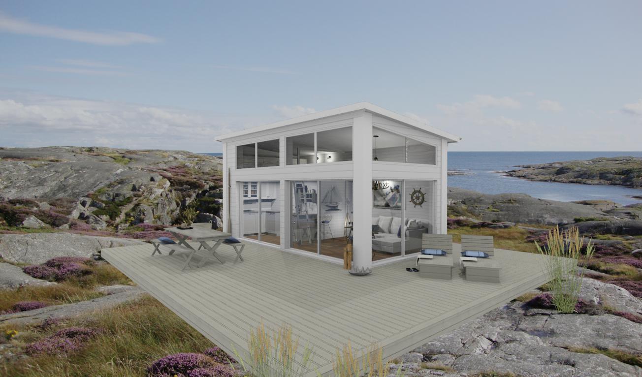 Den vita drömgården: attefallshus och friggebod som gästhus